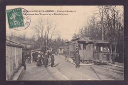 CPA Hauts De Seine 92 Boulogne Tramways électriques Circulé - Boulogne Billancourt