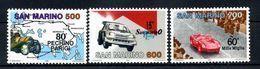 1987 SAN MARINO SET MNH** - Unused Stamps