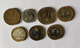 Lot De 10 Francs 1976 - 1986 - 1987 - 1988 - 1990 - 1991 - K. 10 Francs