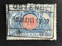 TR38 Gestempeld OSTENDE - 1895-1913