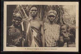 Dahomey Groupe D'indigenes Region De Sannsandra__(4556) - Dahomey