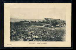 Dahomey Village De Pecheurs__(4528) - Dahomey