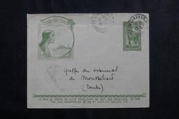 MADAGASCAR - Entier Postal De Tananarive Pour La France En 1937 - L 73537 - Storia Postale