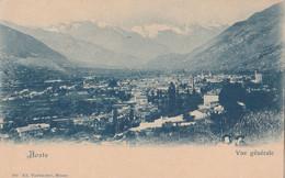 Cartolina - Postcard /  Non Viaggiata  -  Unsent /  Aosta, Panorama. - Aosta