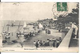 LE PORT ET LA PLAGE - Saint-Aygulf