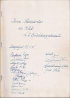"""ILLUSTRIERTES BUCH WK2 """"Mit Hitler Im Westen"""" Widmung """"Klagenfurt 1944"""",viele Orig.Unterschtiften, ~ 80 S ~100 Fotos ... - 5. Guerre Mondiali"""