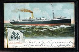 Steamers R.P.D. Zieten Nordd. Lloyd -05__(2902) - Piroscafi