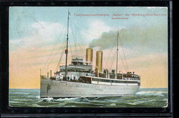 Steamers Turbinenschnelldampfer Kaiser -12__(2627) - Passagiersschepen