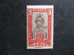 Gabon : TB Timbre-Taxe N° 13 , Neuf XX . - Nuevos