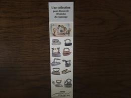 Marque Page Collection Un Siècle De Repassage - Marque-Pages