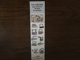Marque Page Collection Un Siècle De Repassage - Segnalibri