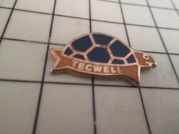 1018c Pin's Pins / Rare & De Belle Qualité !!! THEME : ANIMAUX / TORTUE TECWELL - Animals