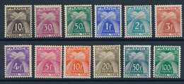 DT-175: FRANCE: Lot Avec Taxes N°78/89** - 1859-1955.. Ungebraucht