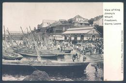SIERRA LEONE FREETOWN View Of King Wharf - Sierra Leone