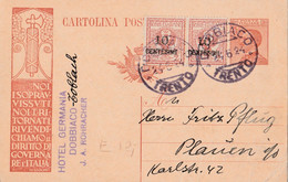 Cartolina Postale  - Postcard /  Viaggiata  -  Sent /   Propaganda Del P.N.F. Per L'Estero. - Marcophilie