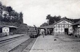 76  BOLBEC LA GARE AVEC TRAIN - Bolbec