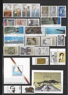 ARMENIE - 1992/2002 - COLLECTION (DONT BLOC YT N°1 !) Sur 3 PAGES ** MNH - COTE YVERT = 200 EUR. - Armenia
