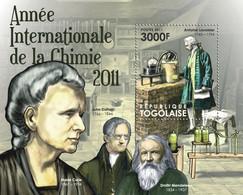 Togo 2011 MNH - International Year Of Chemistry 2011 (Antoine Lavoisier). YT 544, Mi 4296/Bl.670 - Togo (1960-...)