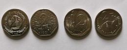 Lot De 4 Pièces De 2 Francs 1981-1995-1997-1998 - K. 10 Francs