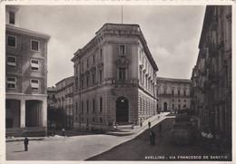AVELLINO - CARTOLINA - VIA FRANCESCO DE SANCTIS - VG. PER CORNIGLIO (PARMA) - Avellino