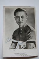 Raymond Louviot , Champion De France 1934 , Avec Autographe - Ciclismo