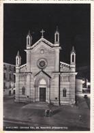 AVELLINO - CARTOLINA -  CHIESA DEL SS. ROSARIO (PROSPETTO) VG. PER BERGAMO - Avellino