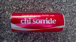Lattina Italia - Coca Cola 2013 - 330 Ml. - Condividi Questa... Chi Sorride - Dosen