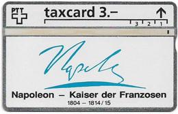 Switzerland - Swisscom (L&G) - K Series - K-93/9C - Napoleon 1769-1821 - 304L - 01.1993, 3Fr, 2.500ex, Used - Schweiz