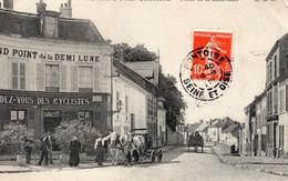 S 4  -  101   -    SAINT - OUEN - L' AUMONE   -   ( 95 )     -               Place  De  La  Demi - Lune   - - Saint-Ouen-l'Aumône
