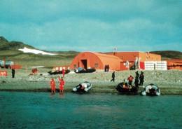 6 AK Antarktis * Forschungsstationen Von Uruguay, Süd Korea, Polen, Die Inseln Cuverville, Deception, Den Errara Channel - Cartoline