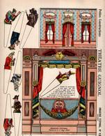 THEATRE  GUIGNOL - Petites Constructions  (A Découper Et à Monter) - Imagerie D'Epinal N° 1372 - Ohne Zuordnung
