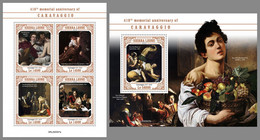 SIERRA LEONE 2020 MNH Caravaggio Painter Maler Peintre M/S+S/S - OFFICIAL ISSUE - DHQ2042 - Other