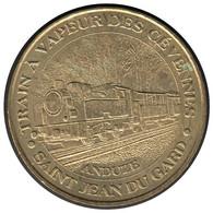 30007 - MEDAILLE TOURISTIQUE MONNAIE DE PARIS 30 - Train à Vapeur Des Cévennes - 2006 - 2006