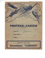 Protège Cahier - Thème Avions De Chasse - Offert Par Les Encaustiques LIBERON - Book Covers