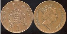 GRANDE BRETAGNE  - One 1 Penny  -1992 - Marocco