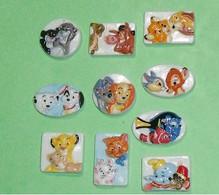 Série De Fèves Complète : Animal Friends Relief , Avec Fève Hors Série - Disney