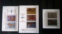 Comores Olympic Barcelona Summer 1992 3 Blocks MNH** - Zomer 1992: Barcelona