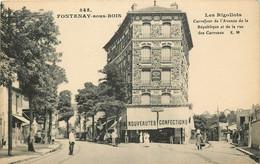 FONTENAY SOUS BOIS LES RIGOLLOTS MAGASINS DE NOUVEAUTES CONFECTIONS - Fontenay Sous Bois