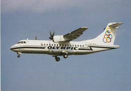 N°6743 -cpsm Olympic -ATR 42 - 1946-....: Modern Era