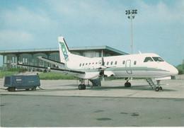 N°6744 -cpsm Air Limousin -SAAB SF-340 - 1946-....: Modern Era