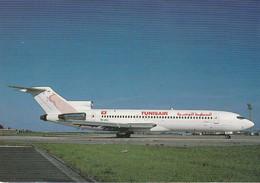 N°6745 -cpsm Tunis -Boeing 727 200- - 1946-....: Modern Era
