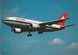 N°6747 -cpsm Swissair -Airbus A 310 221 - 1946-....: Modern Era