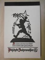 Calendrier 1985 Carnet Complet - Illustrateur Georg PLISCHKE Comportant 12 Cartes Postales SILHOUETTES - RARE - KALENDER - Calendari