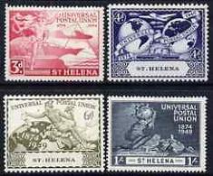 78020 SAINT HELENA, ST HELENA, 1949, UPU, SG145 - SG148 - Isola Di Sant'Elena