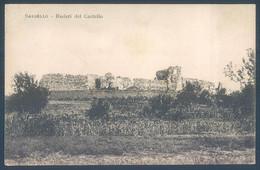 Liguria SASSELLO Ruderi Del Castello Savona - Savona