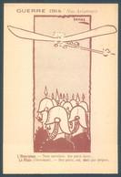Militaria Humorisque Guerre 1914 Nos Aviateurs - Humorísticas