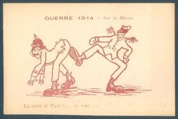 Militaria Humorisque Guerre 1914 Sur La Marne - Humorísticas