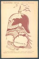 Militaire Humoristique Guerre 1914 Dans Les Flandres - Humorísticas
