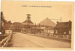 """59 - ANZIN - La Fosse De La Bleuse Borne   """"att A G Petit Manque """" 127 - Anzin"""