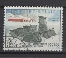 Belgique: 1957. COB : 1031, Oblitéré(s). - Gebraucht
